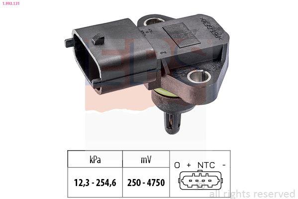 KW493131 EPS Made in Italy - OE Equivalent Luftdrucksensor, Höhenanpassung 1.993.131 günstig kaufen