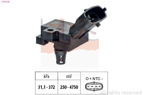 KW493248 EPS Made in Italy - OE Equivalent Sensor, Ladedruck 1.993.248 günstig kaufen