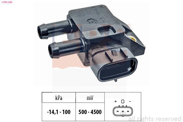 NISSAN CABSTAR E 2008 Sensor, Saugrohrdruck - Original EPS 1.993.284