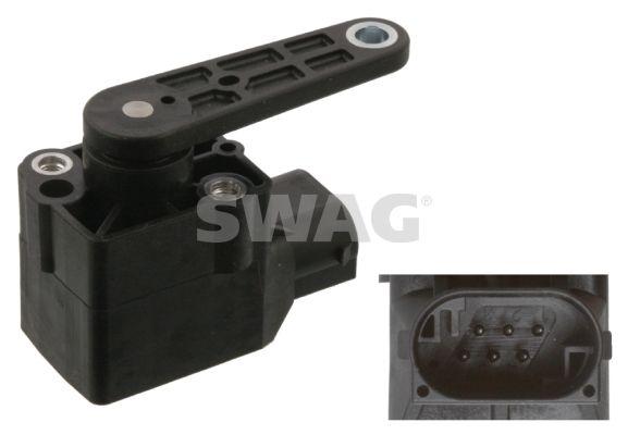 Sensor, Xenonlicht (Leuchtweiteregulierung) SWAG 10 93 8771