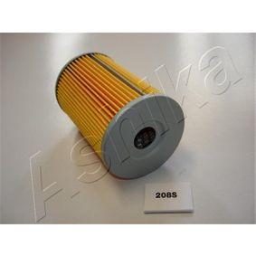 10-02-208 ASHIKA Filtereinsatz Innendurchmesser: 19,4mm, Ø: 72,3mm Ölfilter 10-02-208 günstig kaufen