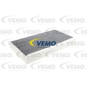 V46-31-1011 VEMO Aktivkohlefilter, Q+, Erstausrüsterqualität Breite: 157mm, Höhe: 35mm, Länge: 257mm Filter, Innenraumluft V46-31-1011 günstig kaufen