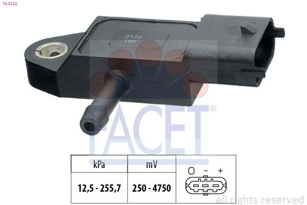 Original MERCEDES-BENZ Sensor Ladedruck 10.3122