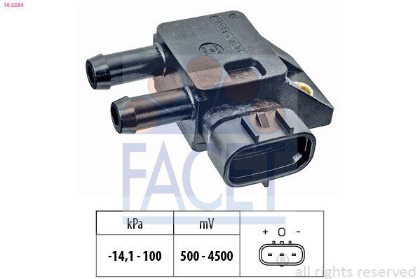 NISSAN CABSTAR E 2012 Sensor, Saugrohrdruck - Original FACET 10.3284