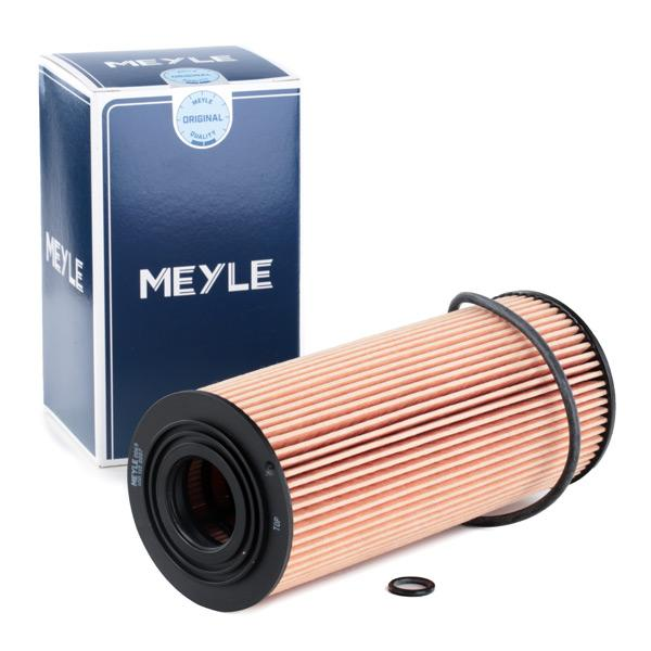 Køb MOF0039 MEYLE med pakninger, Filterindsats, ORIGINAL Quality Innendurchmesser 2: 25,5mm, Innendurchmesser 2: 25,5mm, Ø: 64,5mm, Höhe: 155,5mm Oliefilter 100 115 0007 billige