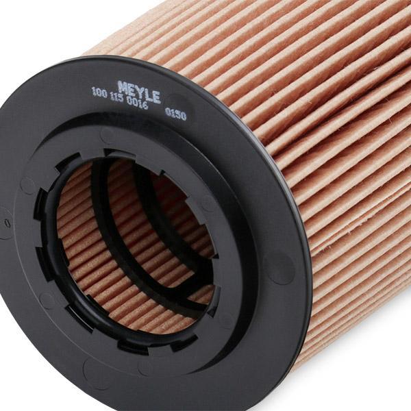 100 115 0016 Filter MEYLE - Markenprodukte billig