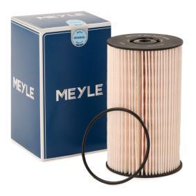 Achat de MFF0054 MEYLE Cartouche filtrante, MEYLE-ORIGINAL Quality, avec joint d'étanchéite Hauteur: 136,5mm Filtre à carburant 100 323 0004 pas chères