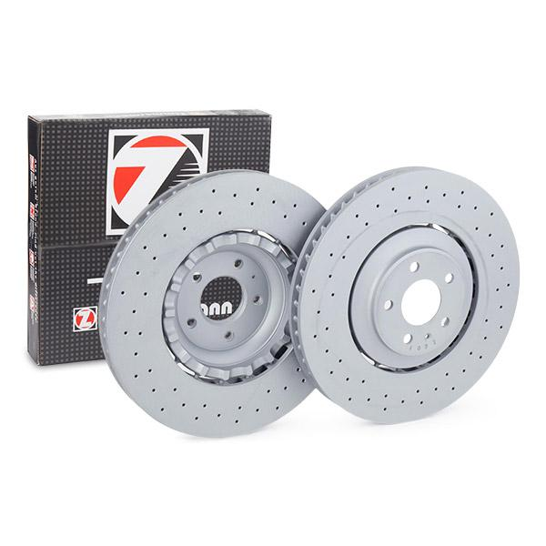 100.3363.70 ZIMMERMANN Perforated, Two-piece Brake Disc, Vented, Coated, Alloyed / High-carbon Ø: 380mm, Rim: 5-Hole, Brake Disc Thickness: 36mm Brake Disc 100.3363.70 cheap