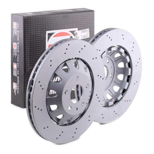 100336870 Brake Discs ZIMMERMANN 100.3368.70 - Huge selection — heavily reduced