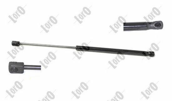 101-00-074 ABAKUS beidseitig, Ausschubkraft: 600N Länge: 470mm, Hub: 182mm Heckklappendämpfer / Gasfeder 101-00-074 günstig kaufen