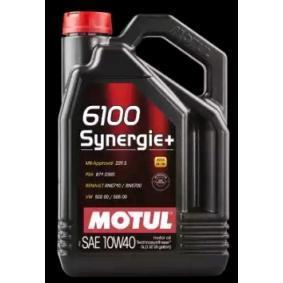 6100SYNERGIE10W40 MOTUL 6100, SYNERGIE+ 10W-40, 4I, Ulei semisintetic Ulei de motor 101491 cumpără costuri reduse