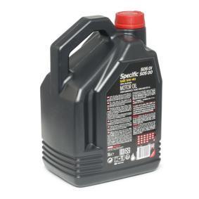 Comprare SPECIFIC5050150200 MOTUL SPECIFIC, 505 01 502 00 5W-40, 5l, Olio sintetico Olio motore 101575 poco costoso