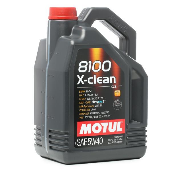 102051 Motoröl MOTUL C3 - Große Auswahl - stark reduziert