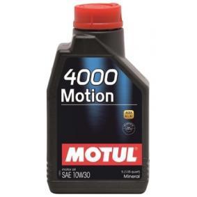 Comprare 4000MOTION10W30 MOTUL 10W-30, 1l, Olio minerale Olio motore 102813 poco costoso