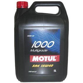103015 Olio motore MOTUL 15W40 - Prezzo ridotto