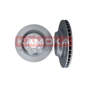 103277 KAMOKA belüftet, legiert/hochgekohlt Ø: 358mm, Lochanzahl: 5, Bremsscheibendicke: 28mm Bremsscheibe 103277 günstig kaufen