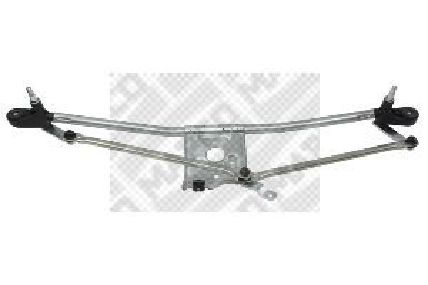 Купете 104641 MAPCO за автомобили с ляв волан, отпред, без електромотор Лостов механизъм на чистачките 104641 евтино
