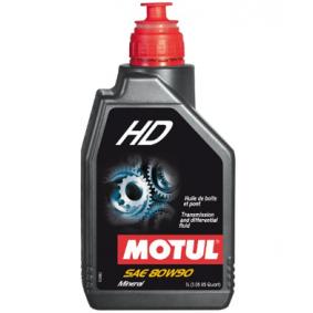 HD80W90 MOTUL HD 80W-90, Mineralöl, Inhalt: 1l API GL-4/GL-5, MIL-L-2105D Getriebeöl 105781 günstig kaufen
