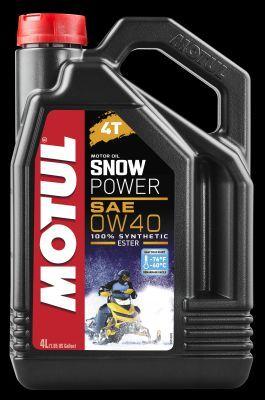 SNOWPOWER4T0W40 MOTUL SNOWPOWER, 4T 0W-40, 4l, Synthetiköl Motoröl 105892 kaufen