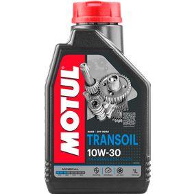 Pirkti TRANSOIL MOTUL TRANSOIL 10W-30, Mineralinė alyva, turinys: 1l Greičių dėžės alyva 105894 nebrangu