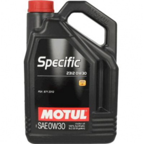 SPECIFIC23120W30 MOTUL SPECIFIC, 2312 0W-30, 5l, Syntetolja Motorolja 106414 köp lågt pris