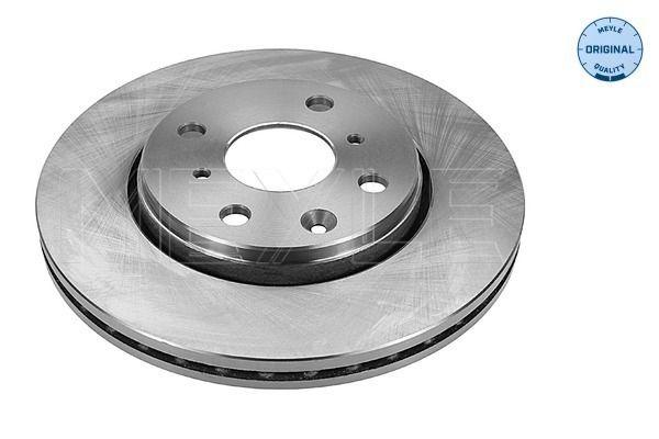 MBD1758 MEYLE ORIGINAL Quality, Vorderachse, belüftet Ø: 247mm, Lochanzahl: 4, Bremsscheibendicke: 20mm Bremsscheibe 11-15 521 0037 günstig kaufen