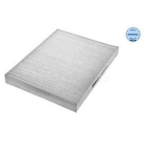MCF0086 MEYLE Partikelfilter, Filtereinsatz, ORIGINAL Quality Breite: 216mm, Höhe: 34mm, Länge: 277mm Filter, Innenraumluft 112 319 0012 günstig kaufen
