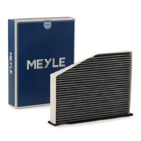 Achat de MCF0099 MEYLE Filtre à charbon actif, Cartouche filtrante, MEYLE-ORIGINAL Quality Largeur: 285mm, Hauteur: 57mm, Longueur: 214mm Filtre, air de l'habitacle 112 320 0011 pas chères
