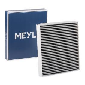 MCF0109 MEYLE Aktivkohlefilter, Filtereinsatz, ORIGINAL Quality Breite: 234mm, Höhe: 30mm, Länge: 254mm Filter, Innenraumluft 112 320 0022 günstig kaufen