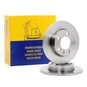 Kupi BAR09123 Barum Poln Ø: 232,0mm, Stevilo lukenj: 5, Debelina zavornega diska: 8,9mm Zavorni kolut BAR09123 poceni