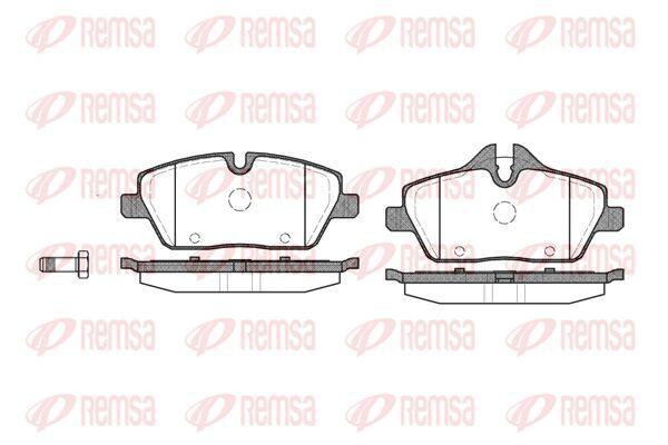 PCA113100 KAWE Vorderachse, für Verschleißwarnanzeiger vorbereitet, mit Klebefolie Höhe 1: 65,3mm, Höhe 2: 53,5mm, Dicke/Stärke: 17,6mm Bremsbelagsatz, Scheibenbremse 1131 00 günstig kaufen