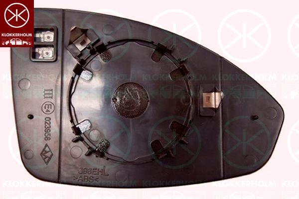 Original CHEVROLET Spiegelglas Außenspiegel 11331063