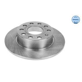 MBD1793 MEYLE ORIGINAL Quality, Hinterachse, Voll Ø: 255mm, Lochanzahl: 5, Bremsscheibendicke: 10mm Bremsscheibe 115 523 0018 günstig kaufen
