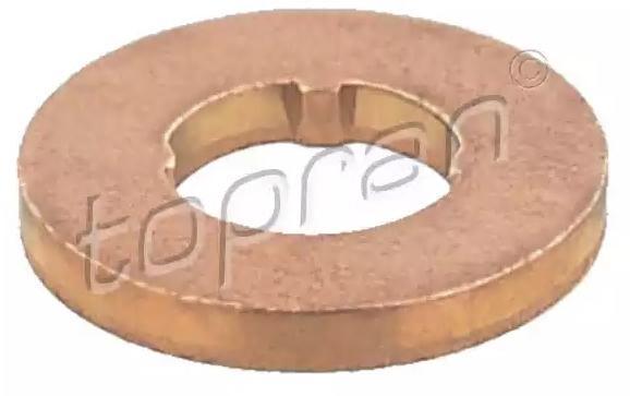 TOPRAN | Wärmeschutzscheibe, Einspritzanlage 115 878