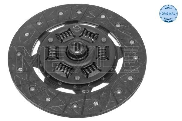 Clutch plate 117 158 1437 MEYLE — only new parts