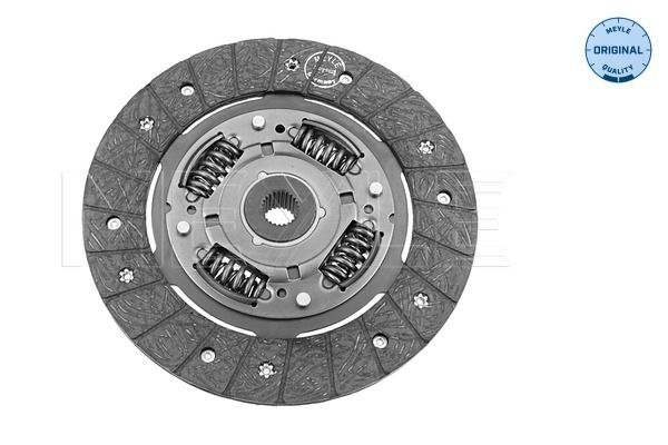 Clutch disc 117 215 2400 MEYLE — only new parts