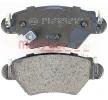 Bremsbelagsatz, Scheibenbremse 1170809 — aktuelle Top OE 91 98 598 Ersatzteile-Angebote
