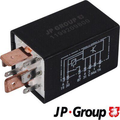 1199209800 Kraftstoffpumpenrelais JP GROUP Erfahrung