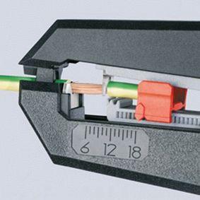 12 62 180 Laido nuvilkimo įrankis KNIPEX - Pigus kokybiški produktai