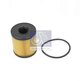 12.16025 DT Filtereinsatz Innendurchmesser: 24mm, Ø: 64mm, Höhe: 69mm Ölfilter 12.16025 günstig kaufen