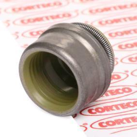 Kupte a vyměňte Tesnici krouzek, drik ventilu CORTECO 12051545