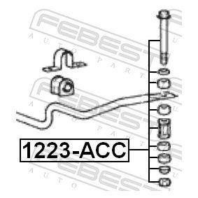 1223ACC Länk, krängningshämmare FEBEST 1223-ACC Stor urvalssektion — enorma rabatter