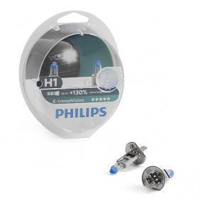 H1 PHILIPS X-tremeVision 55W, H1, 12V Bulb, spotlight 12258XV+S2 cheap