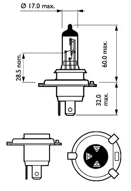 12342PRC1 Gloeilamp, verstraler PHILIPS - Ervaar aan promoprijzen