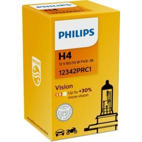 12342PRC1 Glödlampa, fjärrstrålkastare PHILIPS 49099560 Stor urvalssektion — enorma rabatter