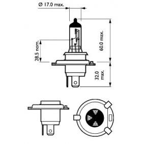 """12342PRC1 Ampoule, projecteur longue portée PHILIPS - L""""expérience à prix réduits"""