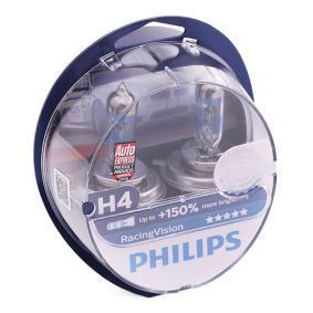 Achat de H4 PHILIPS RacingVision 60/55W, H4, 12V Ampoule, projecteur longue portée 12342RVS2 pas chères