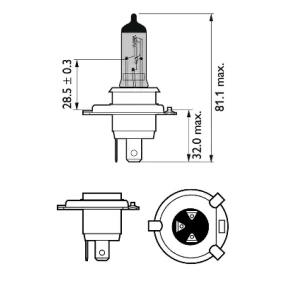 12342RVS2 Glühlampe, Fernscheinwerfer PHILIPS Erfahrung
