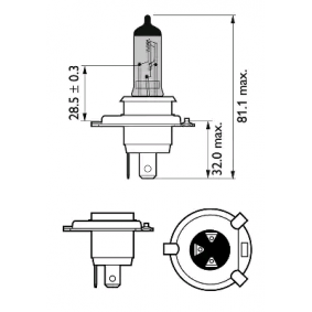 12342RVS2 Lâmpada, farol de longo alcance PHILIPS - Experiência a preços com desconto