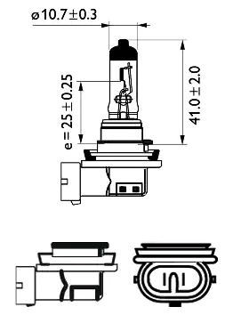 12362LLECOC1 Glühlampe, Fernscheinwerfer PHILIPS zum Schnäppchenpreis